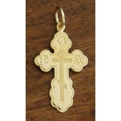 St. Olga 14kt Gold Cross
