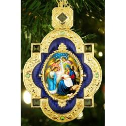 Nativity of Christ Icon Pendant
