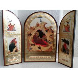Triptych Nativity of Christ - Складень триптих Рождество