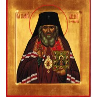 St. John of SF Icon on wood - 11 M