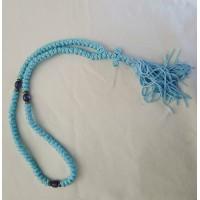 Prayer Rope - 100 flush knot asstd