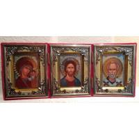 Velvet Triptych - Складень триптих бархат