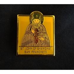 St. John of SF  lapel pin