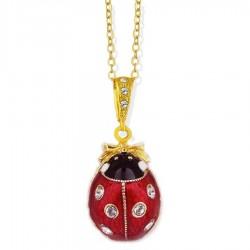 Ladybug Egg Pendant