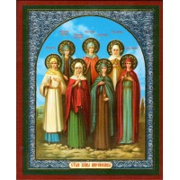 Holy Myrrhbearing Women - Свв. Жены мироносицы x-small