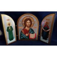 Triptych Our Lord Jesus Christ - Икона  триптих Спаситель