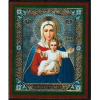 """Mother of God """"I am with you and no one shall be against you""""/ БМ """"Аз есмь с вами, и никтоже на вы"""" small"""