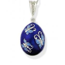 Butterfly Egg Pendant