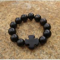 Black Ebony Finger Prayer Rope