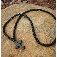 Black Ebony 100 Bead Prayer Rope
