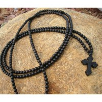 Black Ebony 300 Bead Prayer Rope