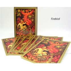 Russian Folk Art Note Cards