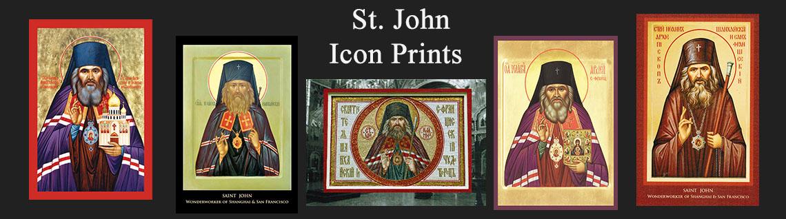 St. John Icon Prints